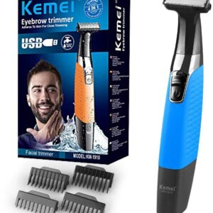 Electric Shaver for Men/Rechargeable Electric Razor, for KEMEI KM-1910 USB Cordless Electric Shaver Men's Hair Clipper Beard Trimmer, Travel Shaver